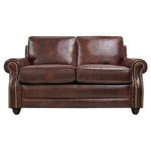 Levi Leather Loveseat by Luke Leather