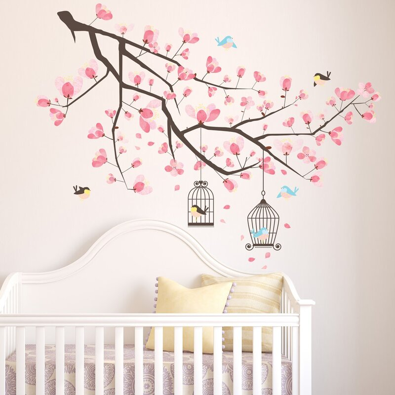 Branche Cherry Blossom Wall Decal
