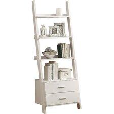 """Antoninus 69"""" Leaning Bookcase"""