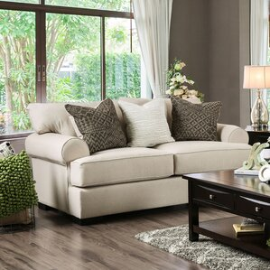 Douglasland Transitional Loveseat by Darby Home Co