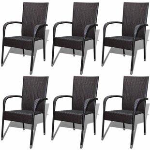 stacking garden chairs wayfair co uk