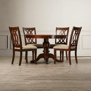 Freeport 5 Piece Solid Wood Dining Set