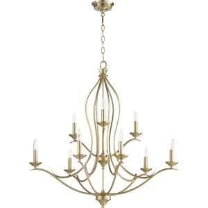 Flora Fall 9-Light Candle-Style Chandelier