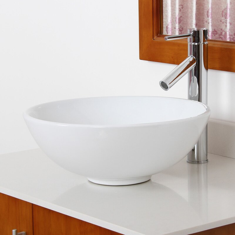 elite single handle bathroom faucet & reviews | wayfair