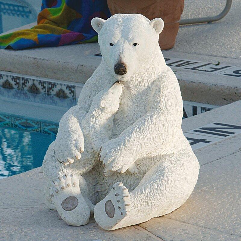 Design Toscano The Polar Bear Pair Statue & Reviews