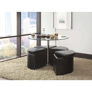 Cosmos Coffee Table with Ottoman (Set of 4)  sc 1 st  Wayfair & Coffee Table With Ottoman Set | Wayfair