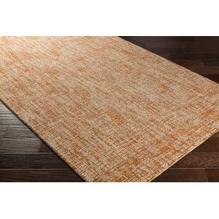 Darlington Hand Tufted Orange Area Rug