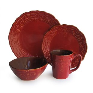 Red Dinnerware Sets Youu0027ll Love