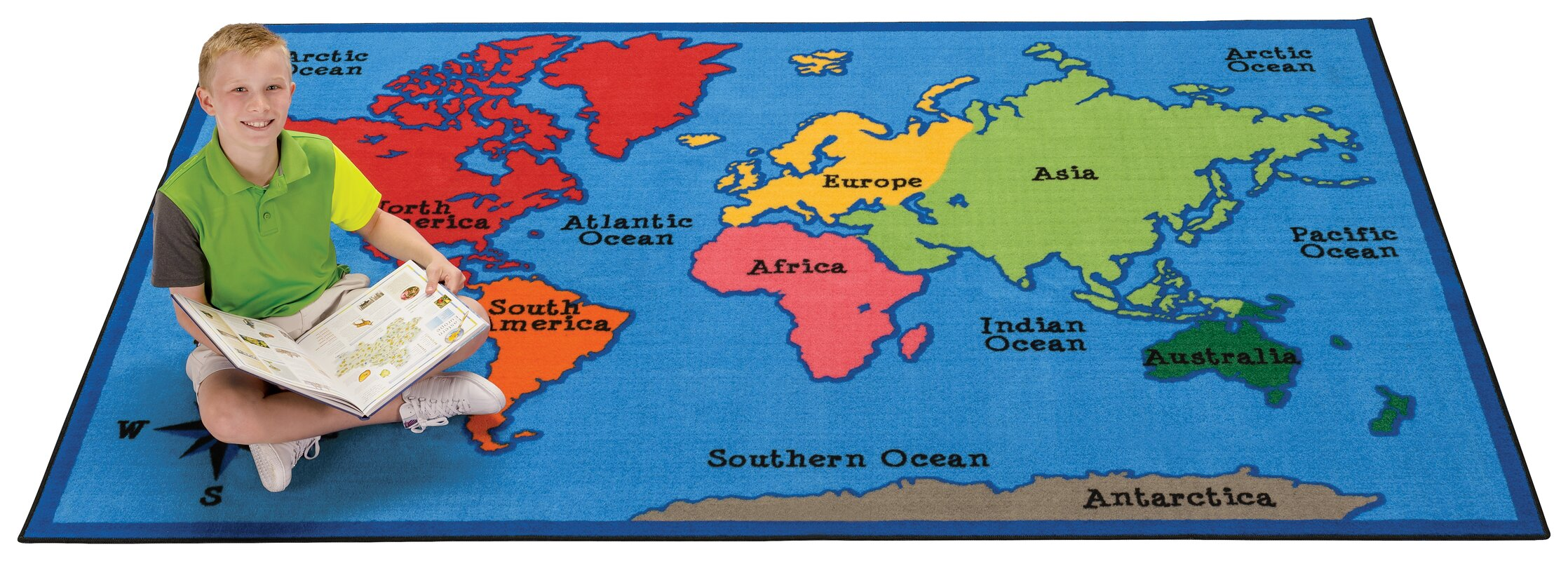 Carpets for kids value plus world map area rug reviews wayfair value plus world map area rug gumiabroncs Image collections