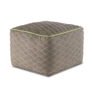 Mohammed Quilted Pouffe by Latitude Vive