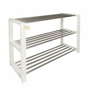 modern 3 tier shoe rack