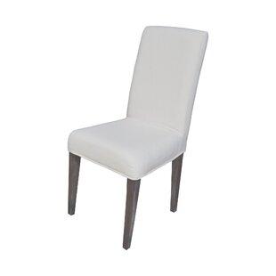 White Slip Covered Chair | Wayfair