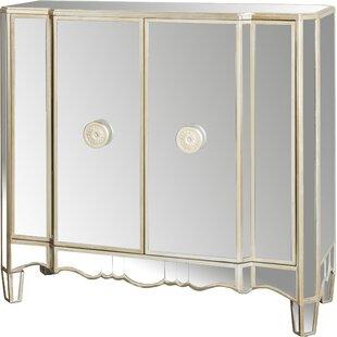 Matteo 2 Door Mirrored Accent Cabinet