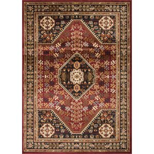 Leland Red Area Rug