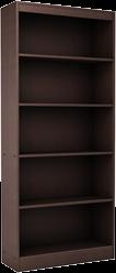 Espresso Bookcases