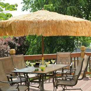 9u0027 Tropical Patio Umbrella