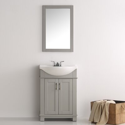 Cambria 24  Single Bathroom Vanity SetElegant Lighting Danville 24  Single Bathroom Vanity Set   Reviews  . Discount Bathroom Vanity Columbus Ohio. Home Design Ideas
