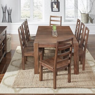 Mahogany kitchen dining room sets youll love wayfair johnston 9 piece dining set workwithnaturefo