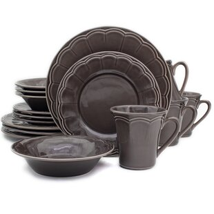 Naperon 16 Piece Dinnerware Set Service for 4  sc 1 st  Wayfair & Made In Portugal Dinnerware | Wayfair