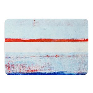 Stripes by CarolLynn Tice Bath Mat
