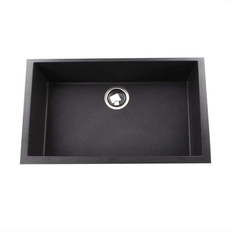 plymouth 30   x 17 75   undermount kitchen sink nantucket sinks plymouth 30   x 17 75   undermount kitchen sink      rh   wayfair com