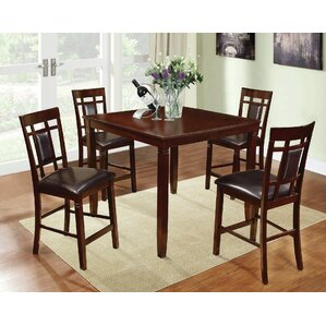 Red Barrel Studio Boston 5 Piece Counter Height Dining Set