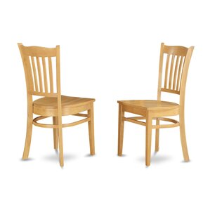 Langwater Solid Wood Dining Chair (Set Of 2)