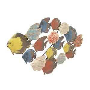 Fish Decor For Walls wood fish decor | wayfair