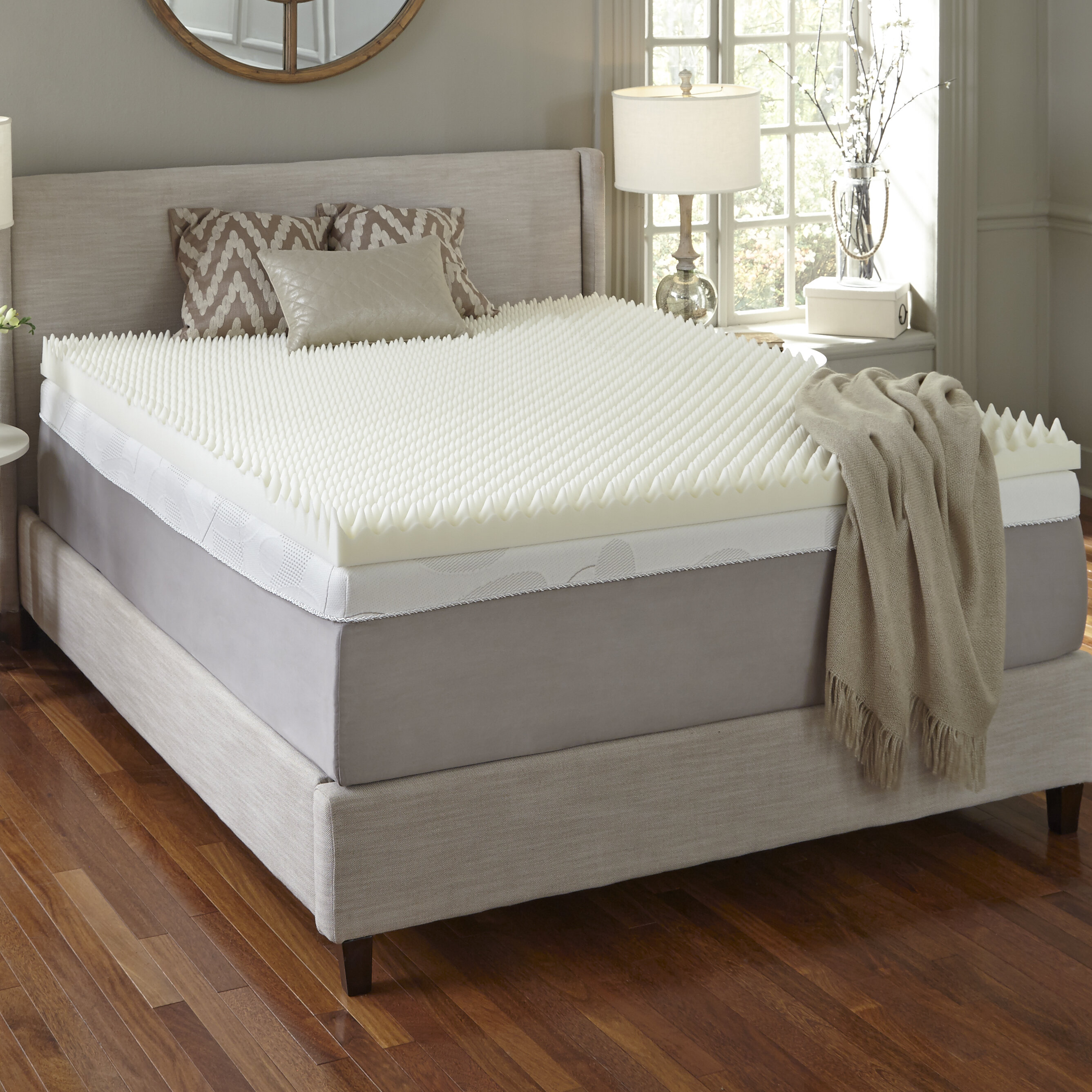 Memory Foam Mattress Topper.4 Memory Foam Mattress Topper