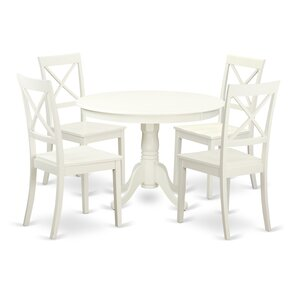 Hartland 5 Piece Dining Set by East West ..