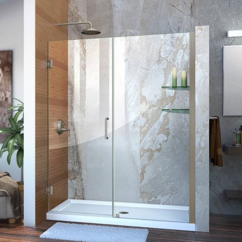 dp clean glass shower luxury frameless sliding enclosure door ibathuk jl cubicle easy mm