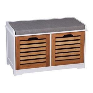 Garderobenbank Kendal mit Stauraum aus Holz von ..
