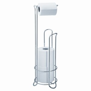 Classico Free Standing Toiletpaper Holder Stand Plus