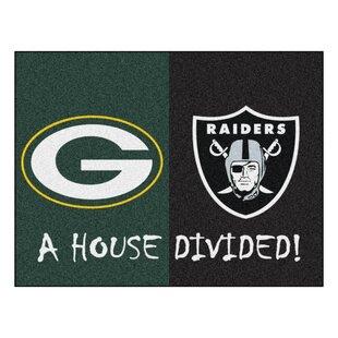 Nfl Green Bay Packers Oakland Raiders Door Mat