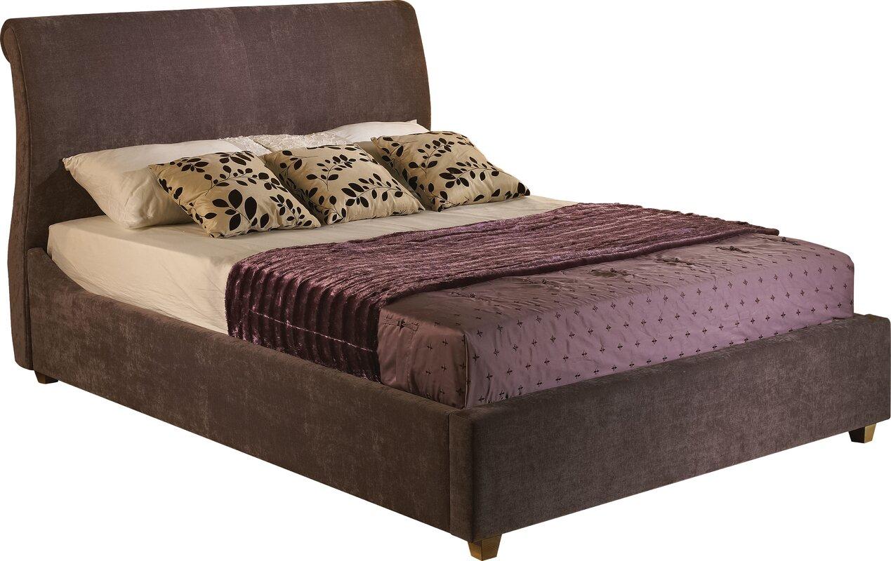 Wayfair Upholstered Bed Home Wayfair Upholstered Bed King: Home Etc Peru Upholstered Storage Bed & Reviews