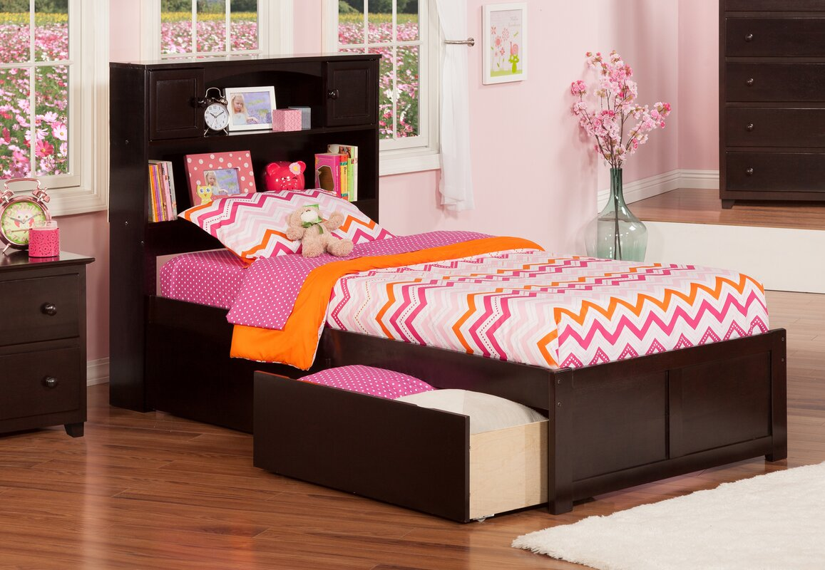 rottman extra long twin platform bed with storage. harriet bee rottman extra long twin platform bed with storage