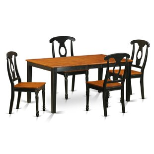 Cleobury 5 Piece Wood Dining Set
