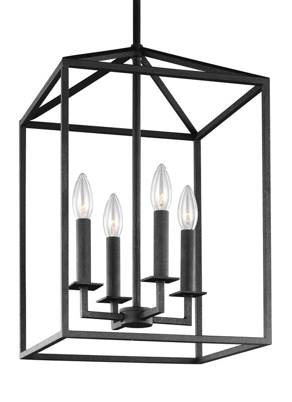 Odie 4 light foyer pendant reviews allmodern odie 4 light foyer pendant aloadofball Images