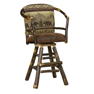 Webrook Hoop 30 Swivel Bar Stool