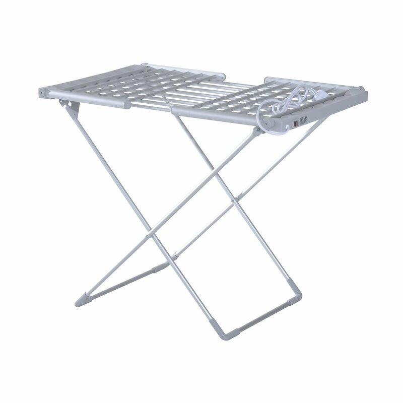 stainless drying itm hanger folding dryer rack stand clothes laundry organizer