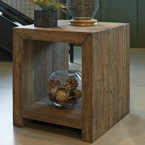 Chantel Rectangular End Table by World Menag..