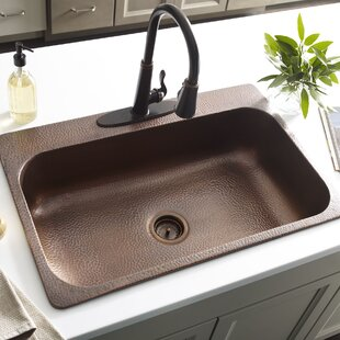 Elegant Copper Drop In Kitchen Sinks Youu0027ll Love | Wayfair