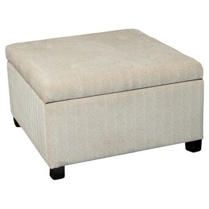 Stephon Wheat Tufted Storage Ottoman by Home Loft Concepts