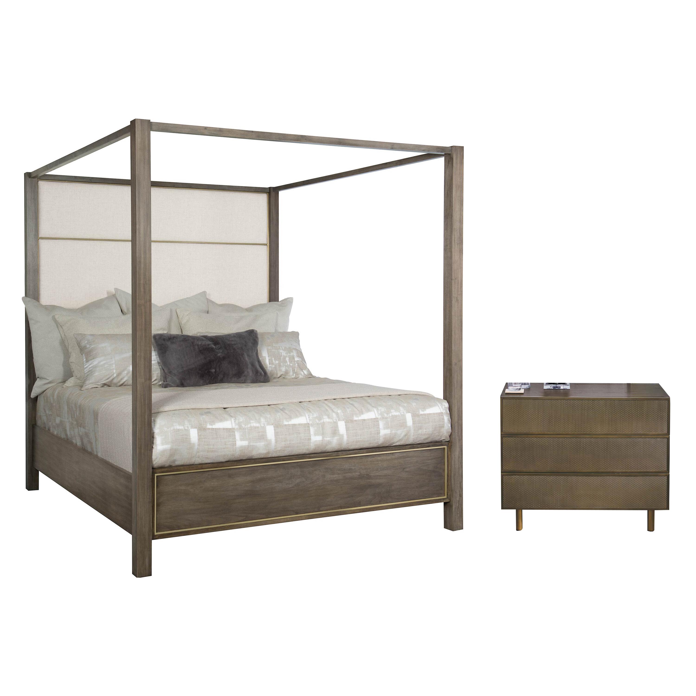 Marvelous Profile King Canopy Configurable Bedroom Set Interior Design Ideas Pimpapslepicentreinfo