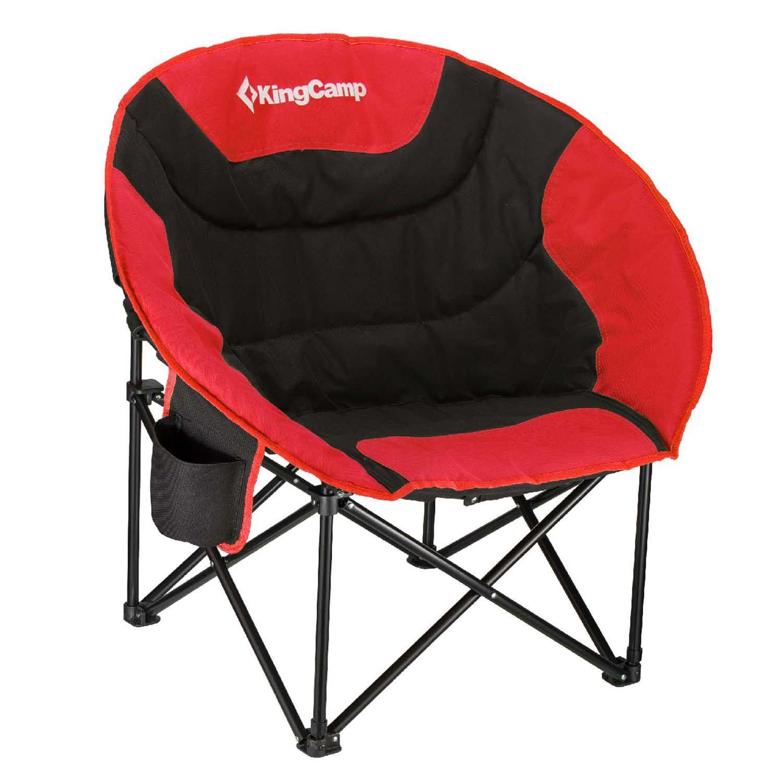 Kingcamp Moon Saucer Folding Camping Chair With Carry Bag | Wayfair