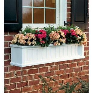 Lexington Self Watering Polyethylene Window Box Planter