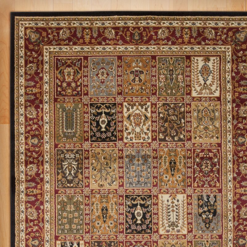 andover mills willis multi-colored area rug & reviews | wayfair