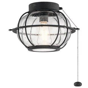 Globe ceiling fan light kits youll love wayfair globe ceiling fan light kits aloadofball Image collections