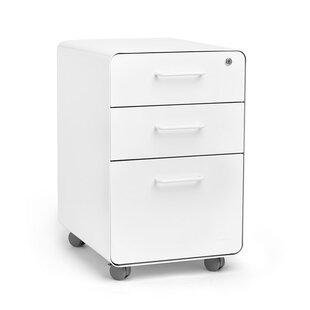 Stow 3 Drawer Vertical Filing Cabinet