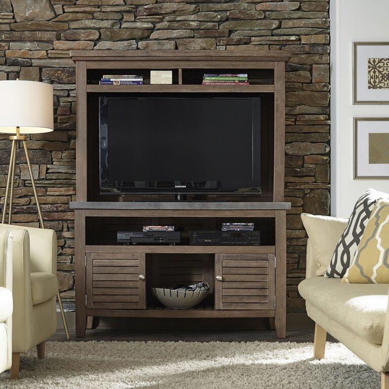 Loon Peak Holmes Indoor Outdoor Buffet Credenza TV Stand Reviews - Buffet tv